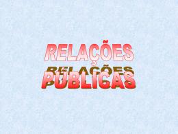 8. relações públicas