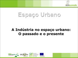 A Indústria no espaço urbano