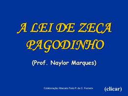 A lei de Zeca Pagodinho .pps