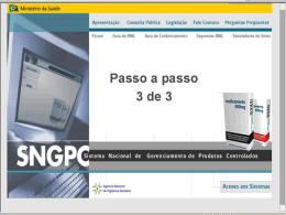 SNGPC - Anvisa