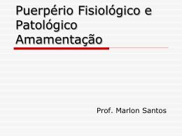 Especialização em Saúde da Mulher - Professor Marlon