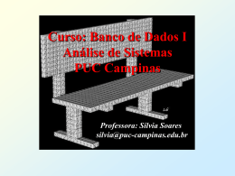 Curso: Banco de Dados I