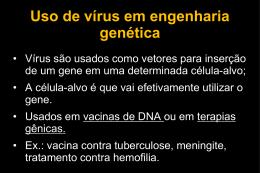 Biotecnologia e Engenharia Genética II