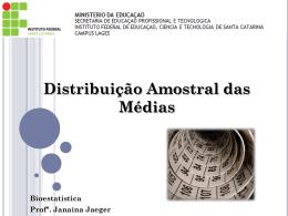Aula 4_Distribuição Amostral das médias - Docente