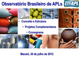 Slide 1 - observatório brasileiro de apl