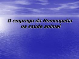 Homeopatia e Saude ebook indd - Universidade Federal do Acre
