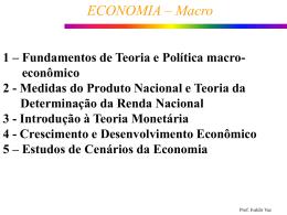 ECONOMIA – Macro - Objetivo Sorocaba