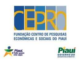 Apresentação das Contas Regionais do Piauí 2006 (slides)