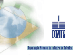 Organiza-ao nacional da industria do petroleo