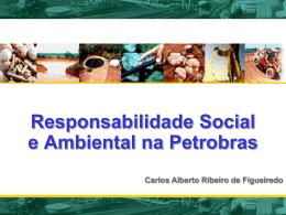 Apresentação da Petrobras - Rede de Tecnologia Social