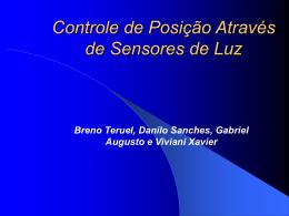 Controle de Posição Através de Sensores de Luz