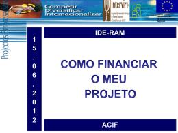 Apresentação do PowerPoint - Instituto de Desenvolvimento
