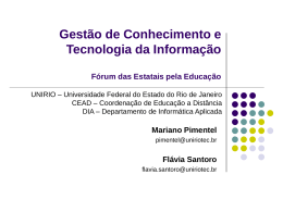 ForumEstatais_GestaoConhecimento_UNIRIO