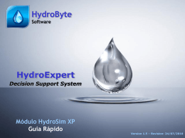 HydroSim XP Quick Reference 1.5