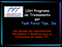 LDH Hardware Program from Task Force Tips, Inc