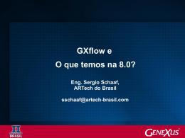 Lancamento de GXflow 8.0