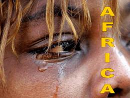 A Dimensão da Fome em África