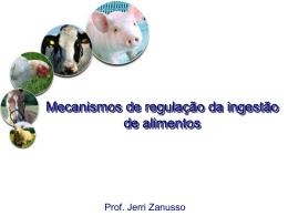 Nutrição animal - Processamento de alimentos -