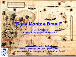 Egas Moniz e Brasil
