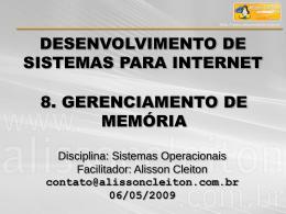 Slides - Alisson Cleiton