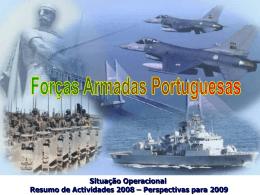 OPERAÇÕES e MISSÕES 2008