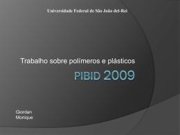 Slide 1 - pibid/ufsj