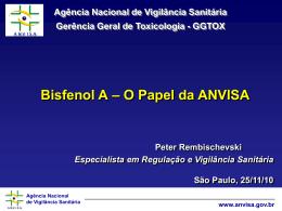 Apresentação Bisfenol SP 2010