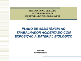 Apresentação do PowerPoint - Estado de Goiás