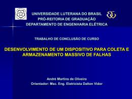 BancaAndreOliveira - Trabalho de Conclusão de Curso em