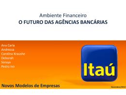 o futuro das agências bancárias