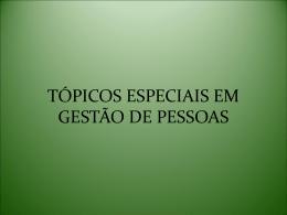 Etapas da Gestão de Pessoas. - Universidade Castelo Branco