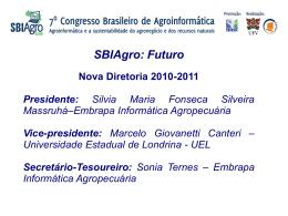 SBIAgro: Futuro - Instituto Brasil