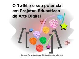 Palestra sobre O potencial do Twiki em projetos