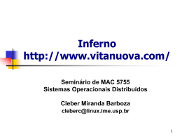 Inferno Overview, em - Rede Linux IME-USP
