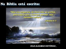 De_Deus_ninguem_zomba - Igreja de Jesus Cristo Vida Nova