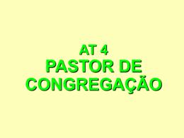 Pastor de congregação