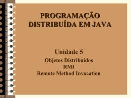 RPC, CORBA, Java RMI