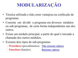 01_Modularizacao_1Procedimentos