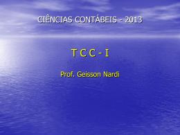 tcc - UNEMAT – Campus de Sinop