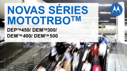 dem tm 400 - Motorola Solutions Communities