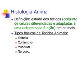 Histologia Animal - IF