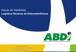 apresentação abdi ppt - Ministério do Desenvolvimento, Indústria e
