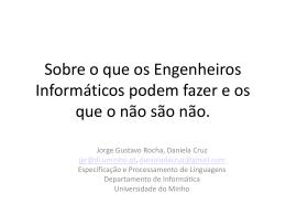 Diapositivo 1 - Departamento de Informática
