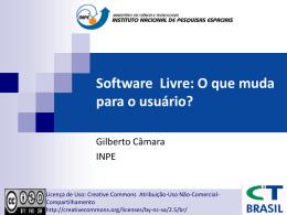 Software Livre: O que muda para o usuário? - DPI