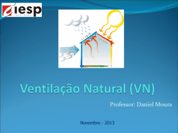 Ventilacao Natural