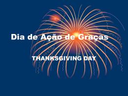 Dia de Ação de Graças