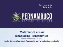 MATEMÁTICA, 6º Ano do Ensino Fundamental