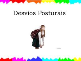 Desvios posturais - Profª Michele