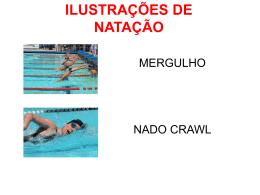 ilustrações de natação - Colégio Salesiano Recife