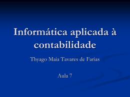 PowerPoint 2007 - Profº Thyago Maia